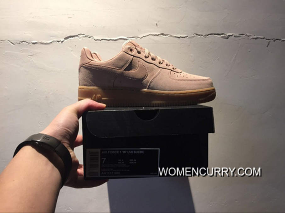 Suede 35 Anniversary Powder Nike Air Force 1 Af1 Low Aa1117-600 Women Shoes  And 18961b8a7