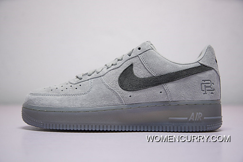 Top Deals Hot Sale Colorways In Vancouver Canada Brand To Be Reigning Champ X Nike Air Force 1 Low All Match One Classic Sneakers Grey Ash Aa1117 118