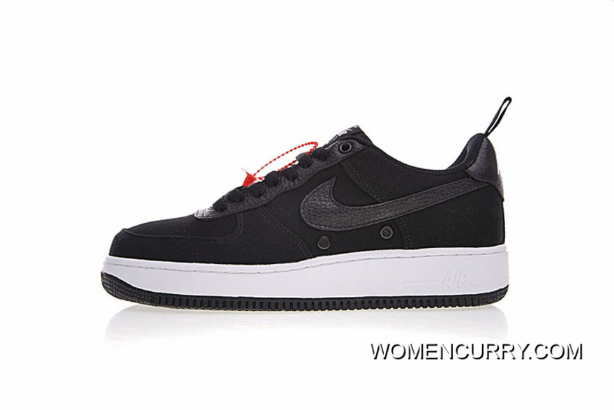 Men Shoes 18SS Nike Air Force 1 Low Canvas One Classic All-match Sneakers  Canvas 5ce531980d3d
