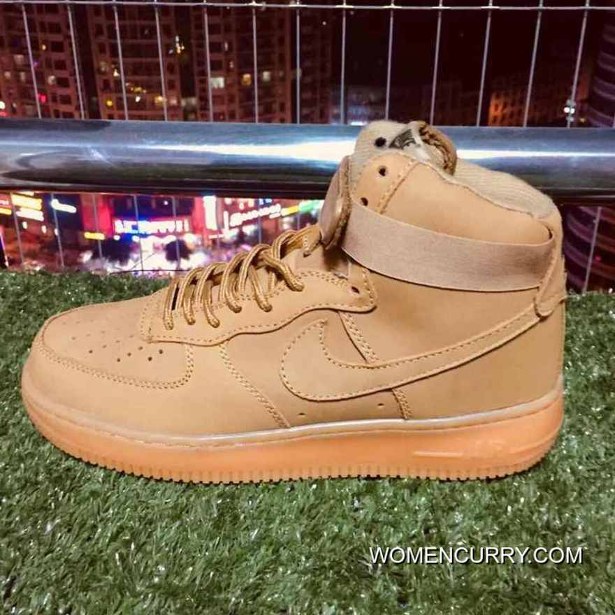 Nike Air Force One 1 Elk Skin Af1 Wheat Color 882096-200 Top Deals ... 192a65dc8