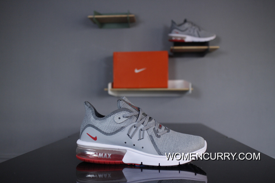 quality design 5f821 c1d2e Nike Air Max Sequent 3 Heel Half-palm As Cushioning 921694-060 Grey Pink