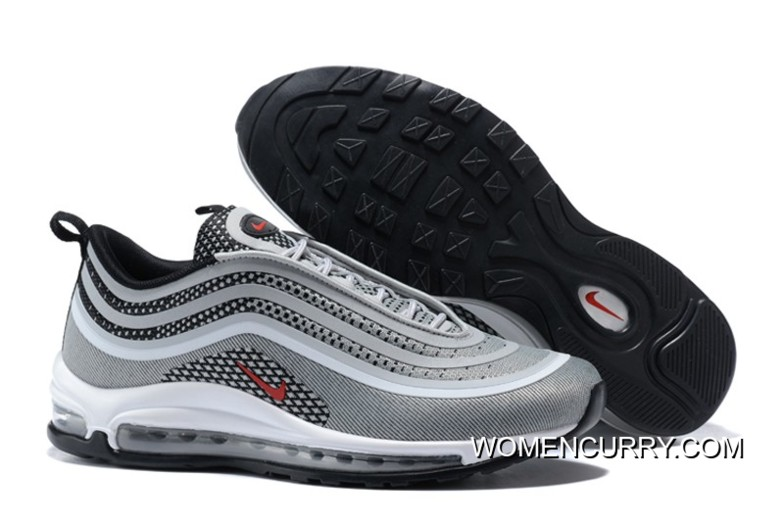"WomenMen Nike Air Max 97 UL'17 ""Silver Bullet"" Cushioning Running Shoes 918356 003 2020 New Year Deals SKU:131674 376"