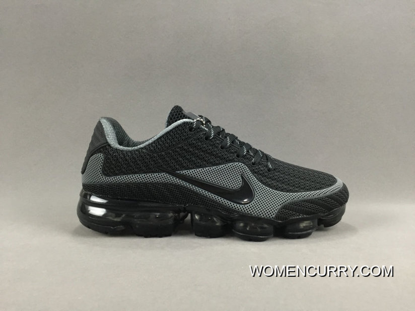 online store 5eb19 b912a NIKE AIR VAPORMAX FLYKNIT 2018 Black Grey Authentic
