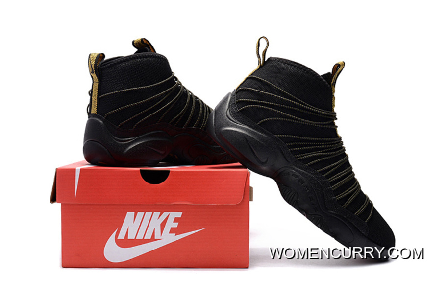 low priced 8b48b dbac4 ... usa nike zoom cabos gary payton black and gold for sale d9b06 75829 ...