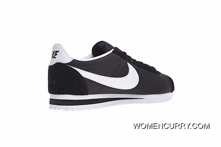size 40 7c0bd e2225 The Latest Perfect Here Model Improved Version Cortez Shoes Nike Classic  Retro Cortez All-match Jogging Shoes Oxford Black White 807472-011 For Sale