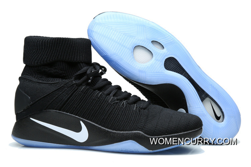 brand new 7068b 97efd Nike Hyperdunk Elite Black Black-Pure Platinum Top Deals, Price   84.00 -  Women Stephen Curry Shoes Online