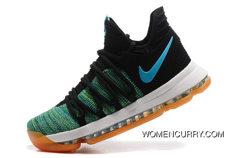 c7763a11bc7f ... inexpensive nike kd 10 green black white men shoes kevin durant new  release 2c379 9e7ff ...