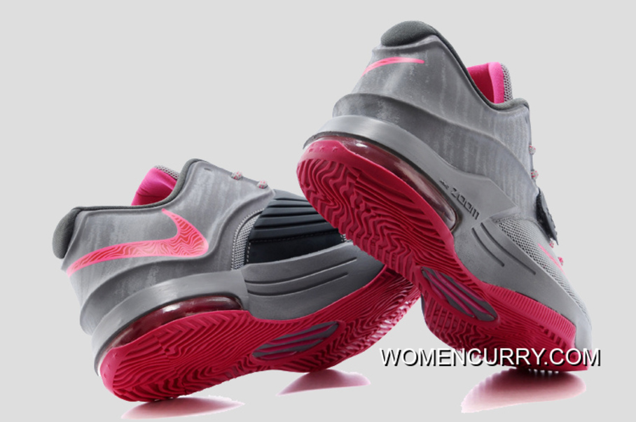 best authentic 45171 cd28f  Calm Before The Storm  Nike KD 7 Base Grey Hyper Punch-Light