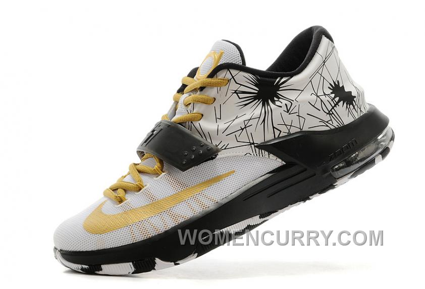 """100% authentic 5c777 8bdcb Nike Kevin Durant KD 7 VII """"Patterns"""" Mens Basketball Shoes For Sale M7xC56"""