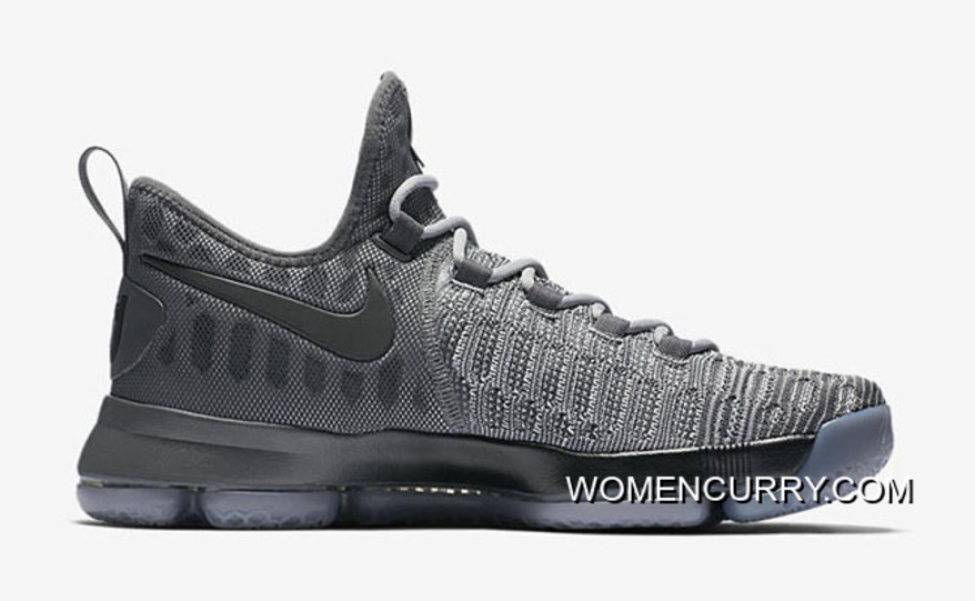 cheap for discount 6be08 a0f71  Battle Grey  Nike KD 9 Wolf Grey Dark Grey For Sale