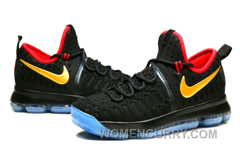 "new concept aef71 e4ba2 Nike KD 9 ""Gold Medal"" Olympics Mens Basketball Shoes For Sale 76pxz"