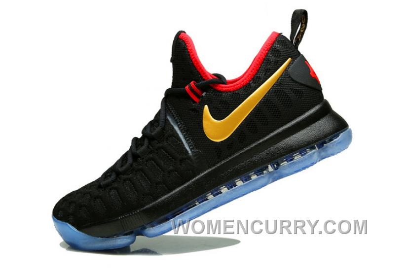 "new concept 097a7 52d97 Nike KD 9 ""Gold Medal"" Olympics Mens Basketball Shoes For Sale 76pxz"