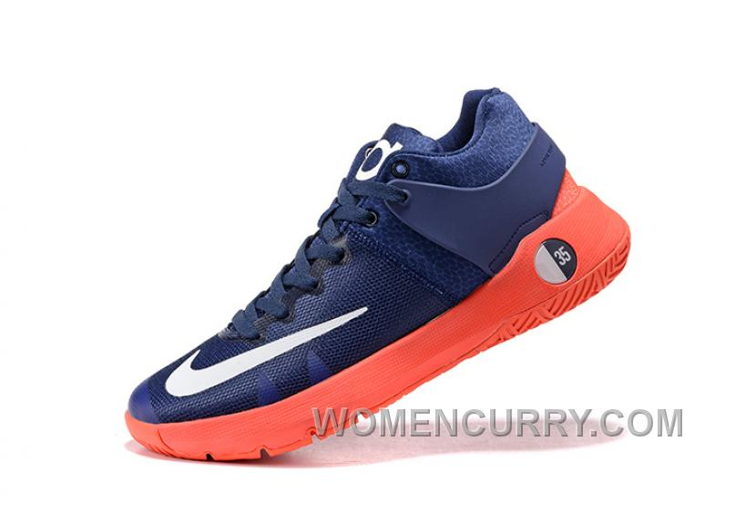 new styles 8d39d 1aee0 Nike KD Trey 5 IV Obsidian Bright Crimson Deep Royal Blue White Cheap