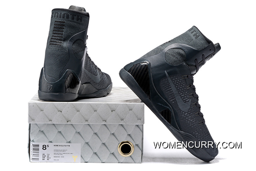 cheap for discount cd172 56023 Nike Kobe 9 Elite FTB Anthracite Anthracite Basketball Shoes Release New  Style