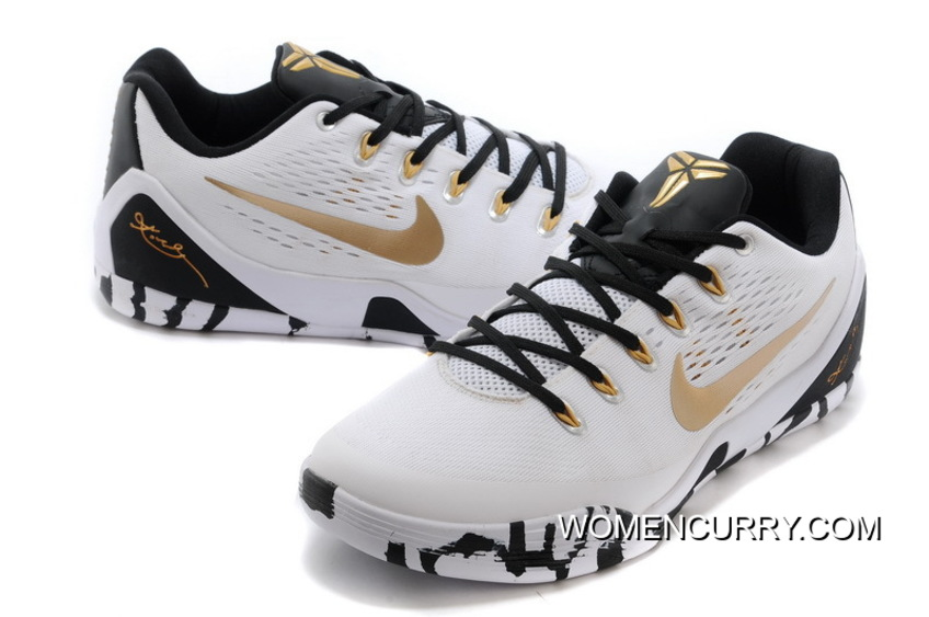 new product 5c7e8 d1109 Nike Kobe 9 Low EM Black Grey Gold - Release Cheap To Buy
