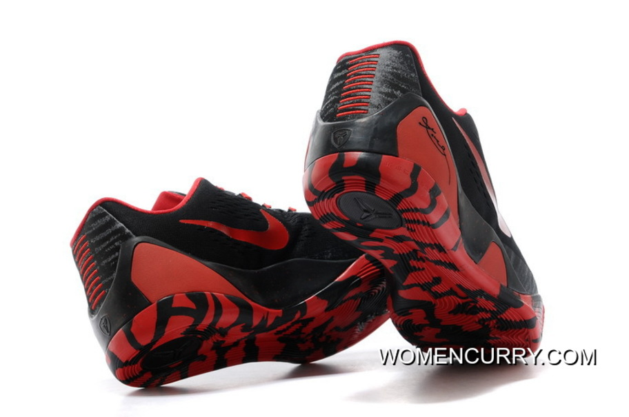 sports shoes 05748 3f585 Nike Kobe 9 Low EM XDR Black Red - New Release