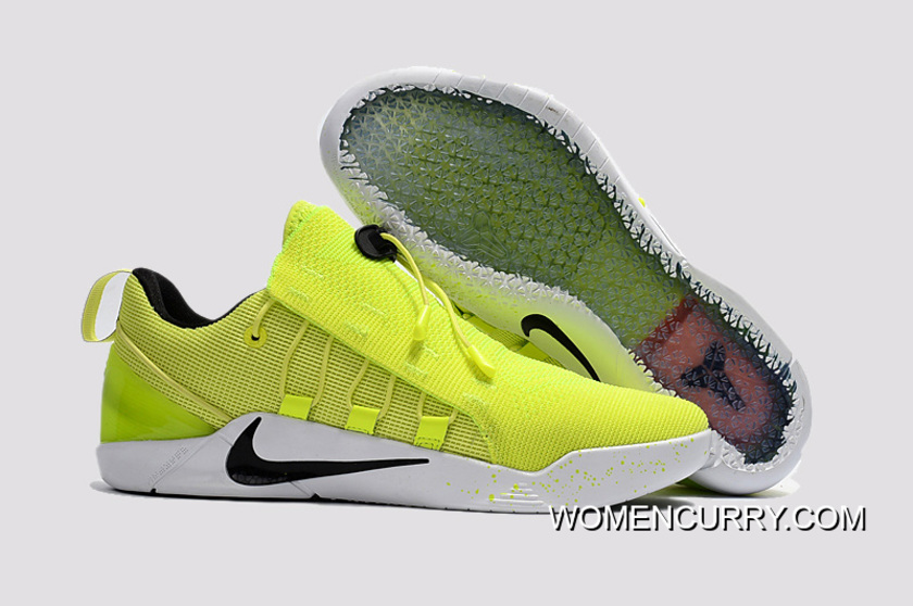 competitive price 7781e 82284  HMD  Nike Kobe A.D. NXT Volt Volt-Black-White Men s Basketball
