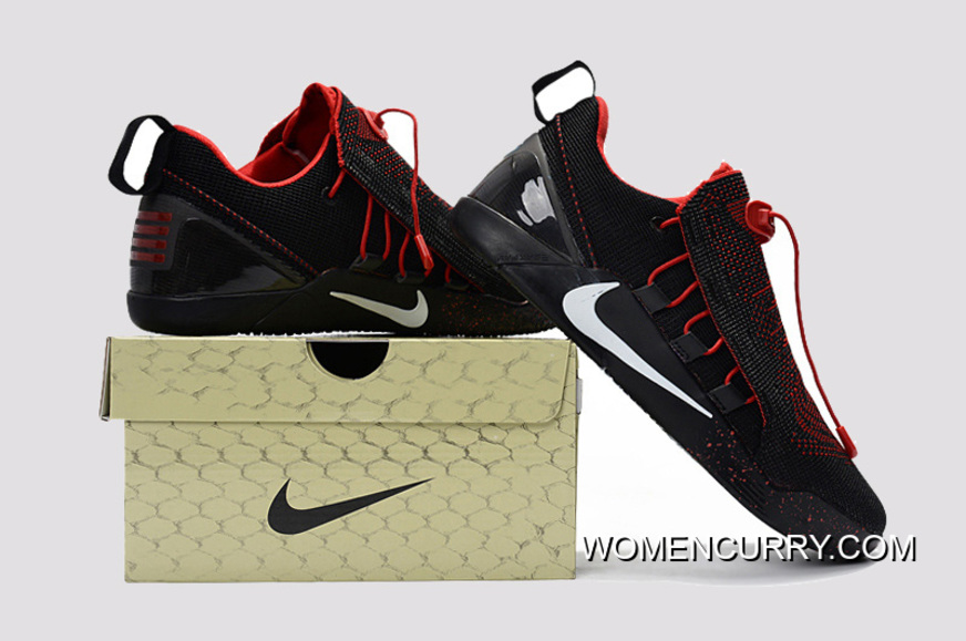 wholesale dealer a1ee9 2c7b9 Nike Kobe A.D. NXT Black Red White Men s Basketball Shoes Top Deals