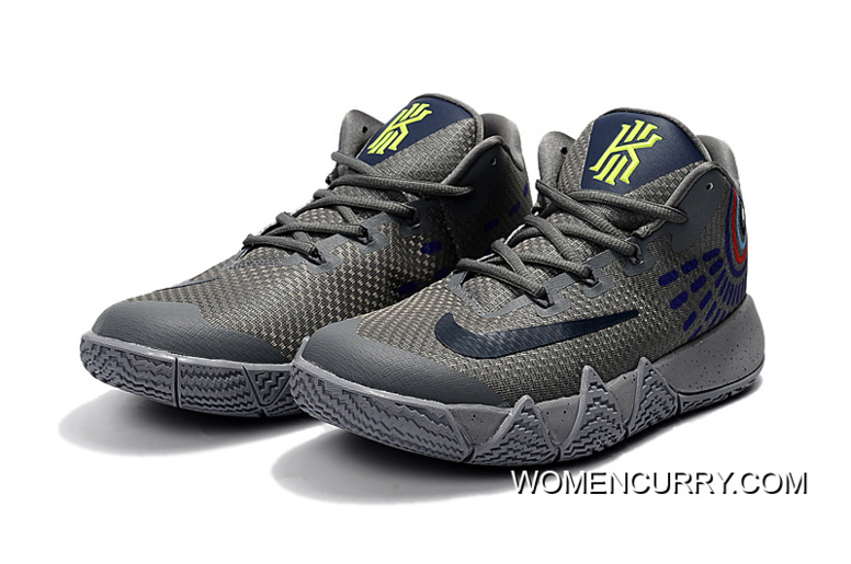 """a146e26768d Outlet Nike Kyrie 4 """"Wolf Grey"""""""