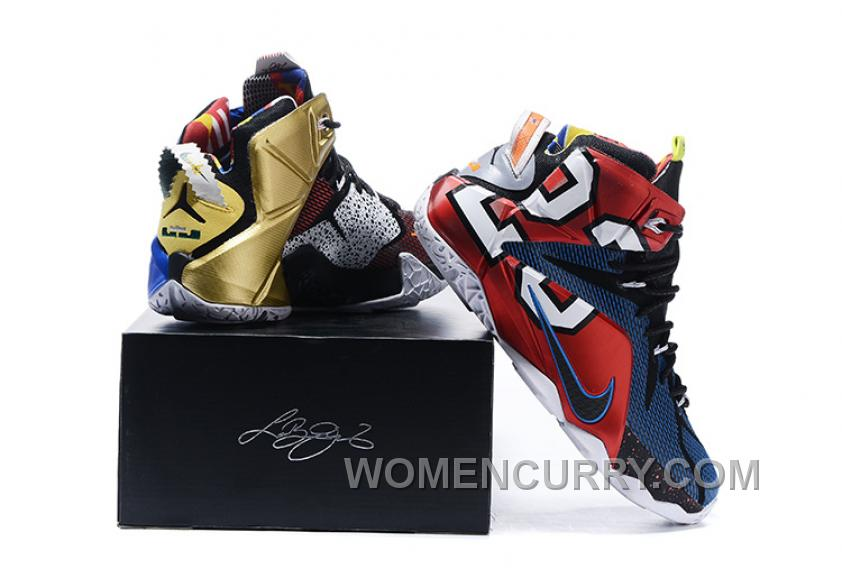 "premium selection 5d774 69285 Nike LeBron 12 ""What The"" Mens Basketball Shoes Online BBXc22"
