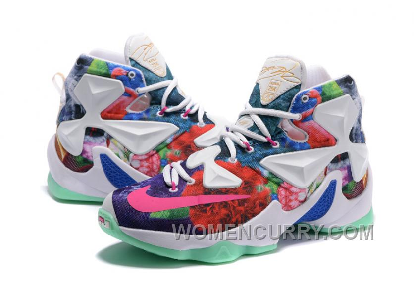 4780419de19 Nike LeBron 13 25K Customize Basketball Shoes For Sale Authentic ...