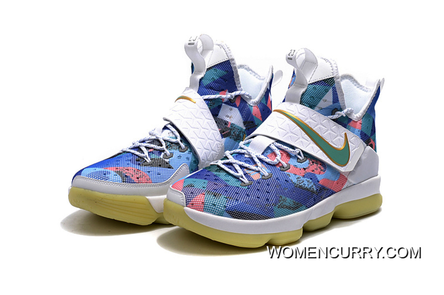 """cheap for discount d4472 6b278 Nike LeBron 14 """"Fruity Pebbles"""" Authentic"""