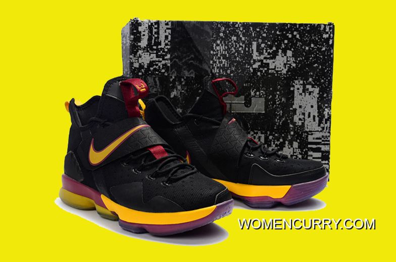 51cd3d42eb6 ... sweden nike lebron 14 cavs pe black wine red gold online 87d49 f7895 ...
