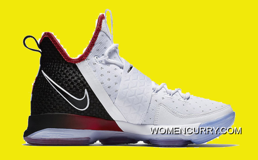 cheap for discount e3de7 3c248 Nike LeBron 14  Flip The Switch  Black White-University Red New Style