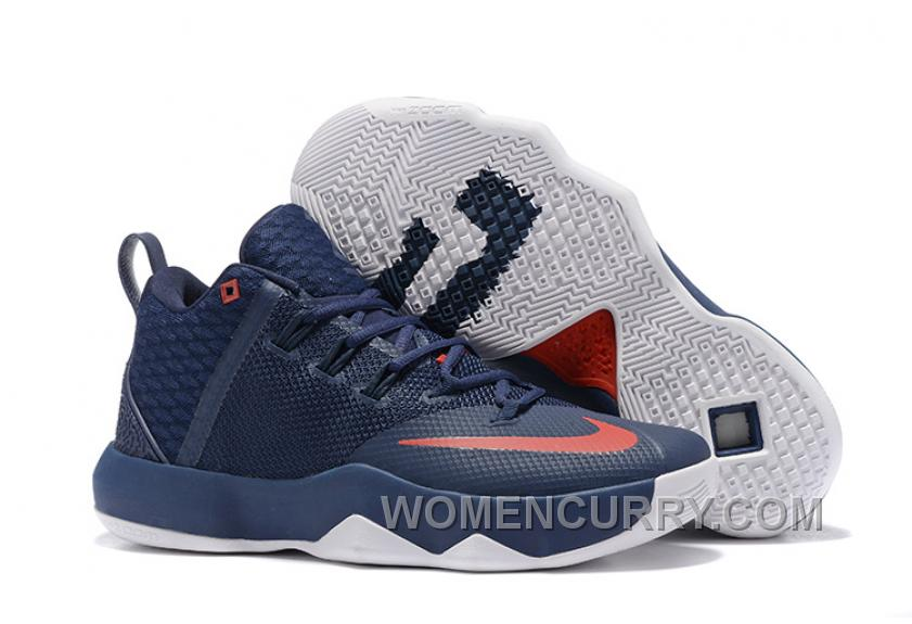 best cheap 802af 87e9d Nike Lebron Ambassador 9 Navy Blue Red Lastest, Price: $84.00 ...