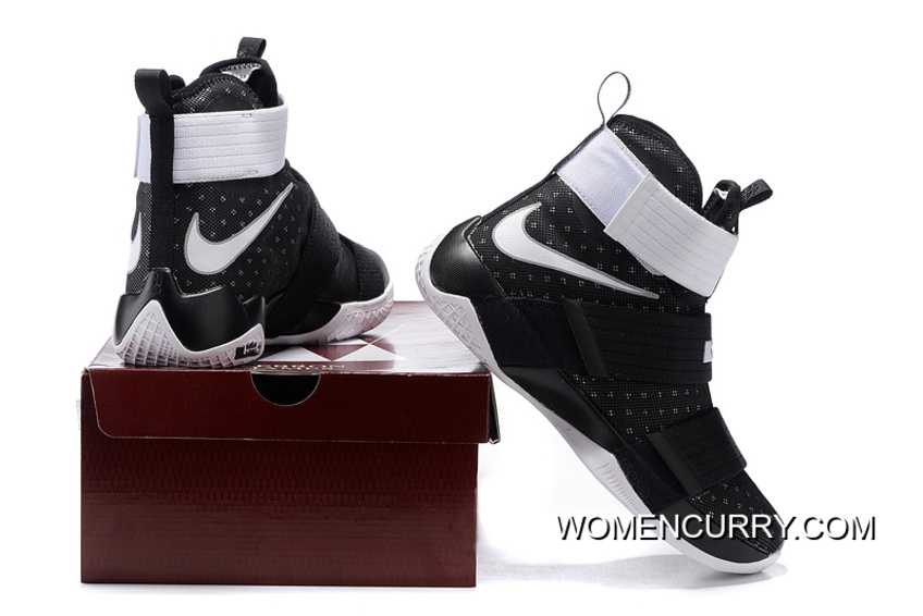 c78fa98f3ca9 ... reduced nike zoom lebron soldier 10 black white metallic silver online  2c35b ccaa0