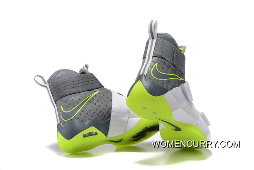 d8c3d9f39098 ... usa nike zoom lebron soldier 10 dunkman white cool grey electric green  cheap to buy ad1e5