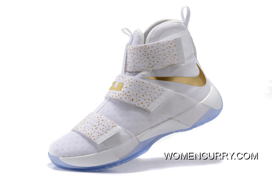 b915daabcf52 ... official store nike zoom lebron soldier 10 gold medal release discount  7170e c1474