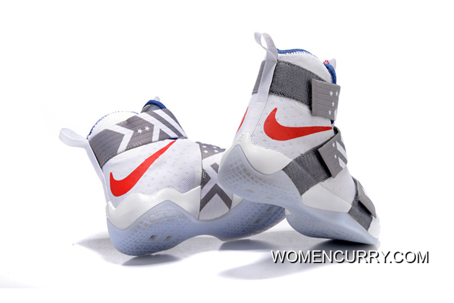 finest selection 08daa f0a85 Nike Zoom LeBron Soldier 10 USA Dream Team 12 New Style