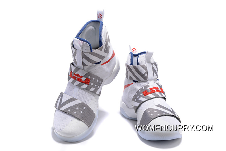 finest selection adfb4 c2f38 Nike Zoom LeBron Soldier 10 USA Dream Team 12 New Style