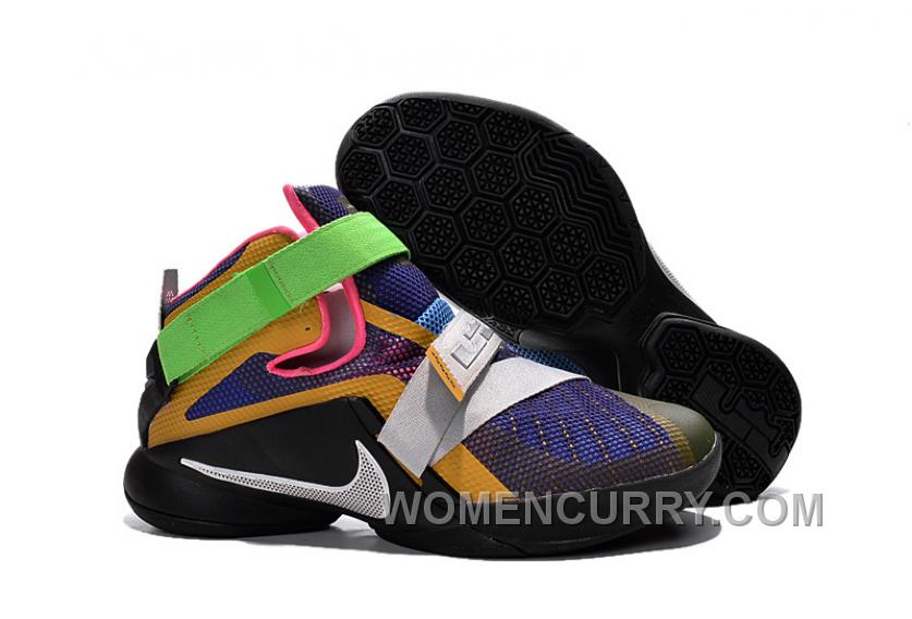 """d2a2f8d9c9b Nike LeBron Soldier 9 """"What The LeBron"""" Mens Basketball Shoes Cheap To Buy  KQh74"""