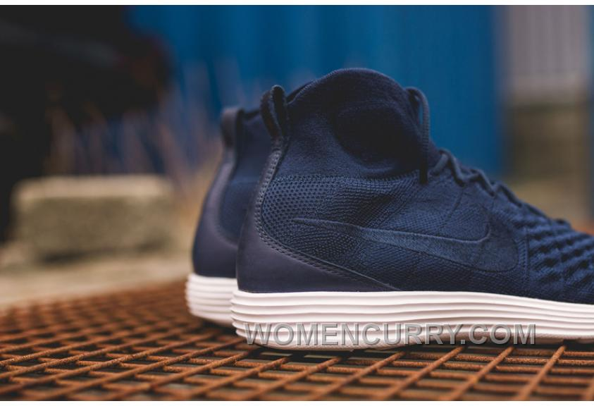 free shipping d915f 24423 Nike Lunar Magista II Flyknit Blue White 852614-600 Cheap To Buy