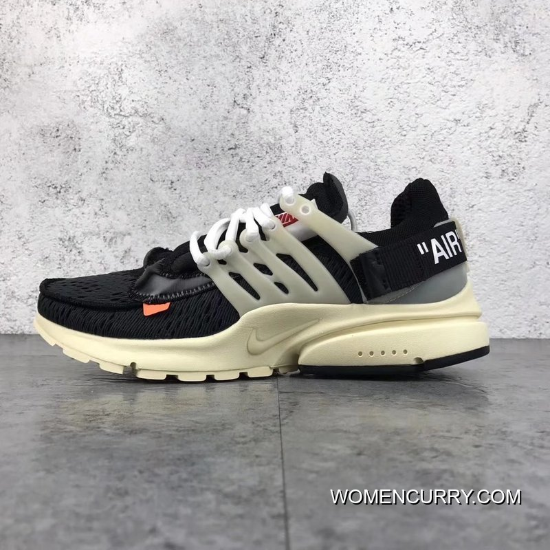 d93dbe604c Nike X Off-White AIR Presto The Ten OW AA3830-001 Men Shoes Best ...