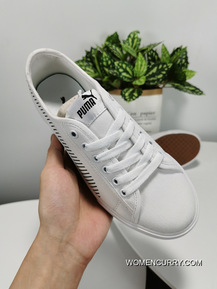 Puma Bari Women And Men Is Contracted Fashion Casual Canvas Shoes