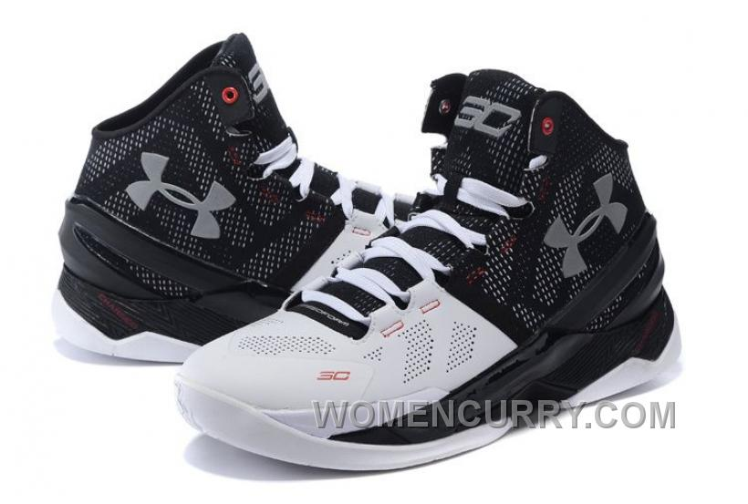 Under Armour Curry 2 Suit Tie Black White Red For Sale New Arrival