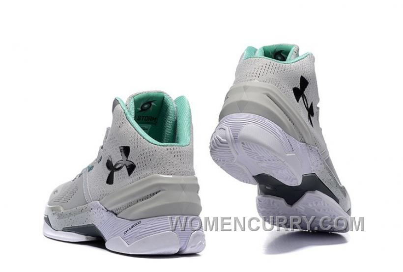 pretty nice efa01 2c5aa Under Armour Curry 2 Cool Grey/Black-Teal For Sale