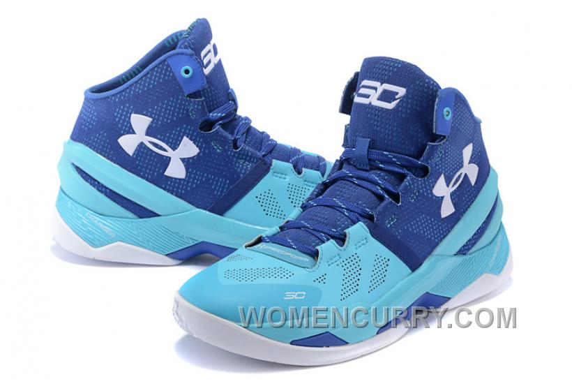 "Under Armour Curry 2 ""Father To Son"" Pacific/Europa Shoes For Sale Online"