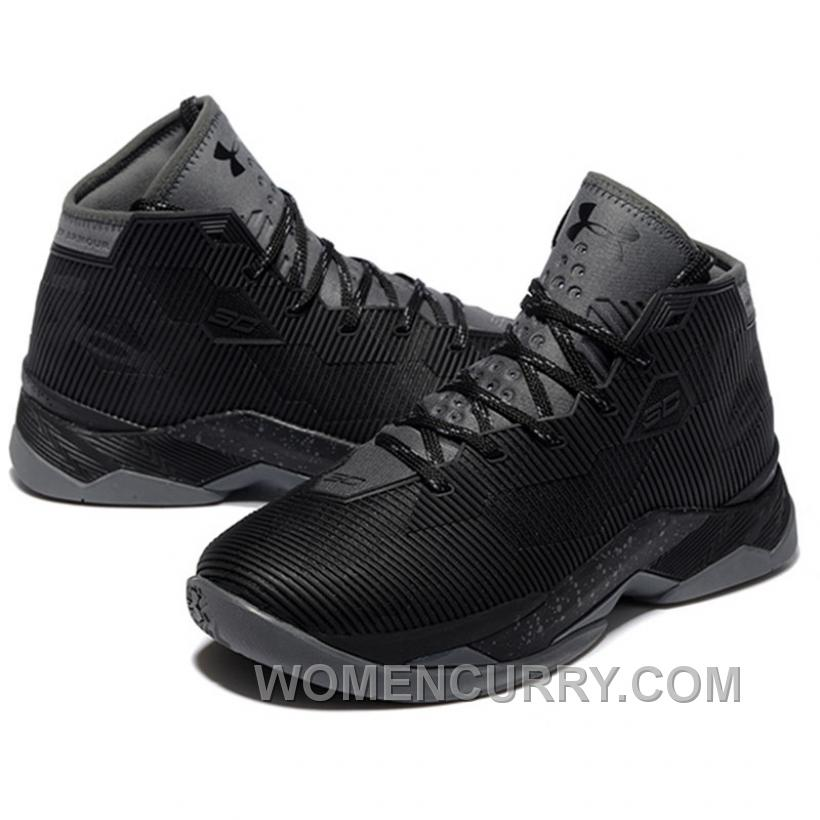 low priced 241fe 9c78d Under Armour Stephen Curry 2.5 Black Basketball Shoes New Arrival