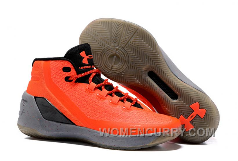 Under Armour Stephen Curry 3 Shoes Orange New Arrival ...