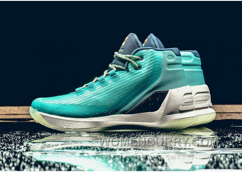 Under Armour Curry 3 Reign Water Blue 40-46 New Release