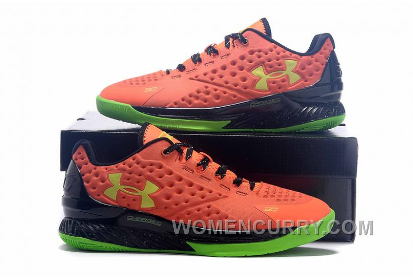 Womens Under Armour Curry One Low Bolt Orange For Fall 0e448dda7
