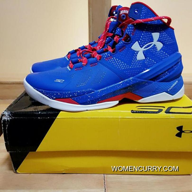 the best attitude 46683 54155 Providence Road' Under Armour Curry 2 Blue – White/Red New Style ...