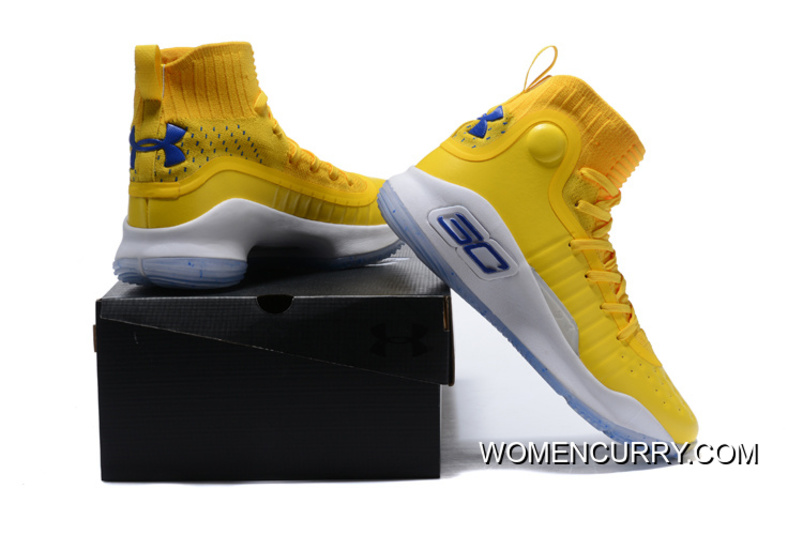 """1b36ad436c43 Under Armour Curry 4 """"Warriors Yellow"""" Best"""