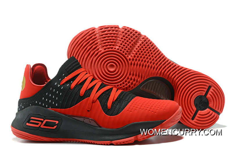 abfa199f2fc Under Armour Curry 4 Low Red Black Online New Release