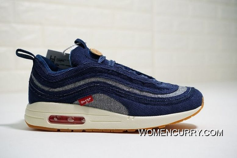 3ad4fe3ab5 New Year Deals Women Levis X Sean Wotherspoon X Nike Air Max 197 VF SW Hybrid  SKU:143109-279, Price: $87.53 - Women Stephen Curry Shoes Online