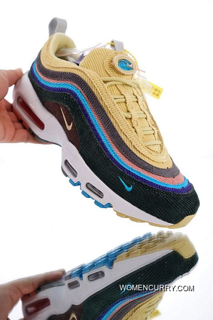 official photos d56ca c4025 Free Shipping Women Sean Wotherspoon X Nike Air Max 97/95 VF SW Hybrid  SKU:106315-326